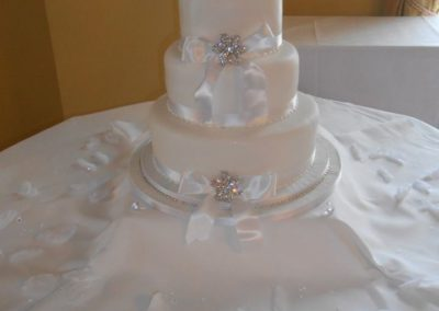 Brochette Wedding Cake