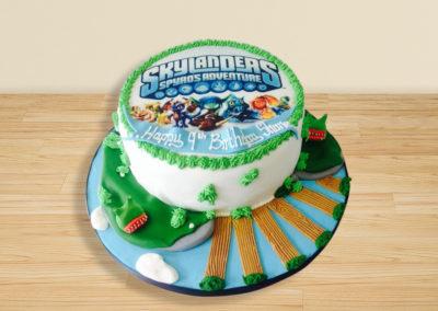 Skylanders cake by Bakers Lane