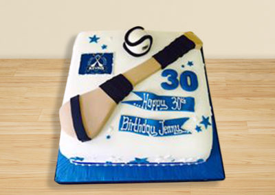 Camogie cake by Bakers Lane