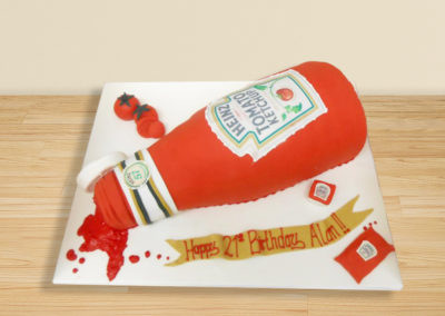 Ketchup cake by Bakers Lane