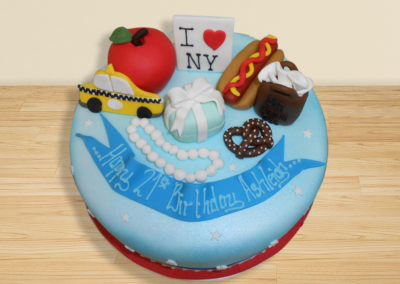 NYC cake by Bakers Lane