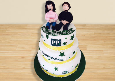 Paddy Power cake by Bakers Lane