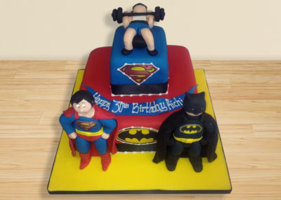 Superhero cake by Bakers Lane