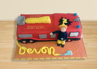 Fireman Sam cake by Bakers Lane