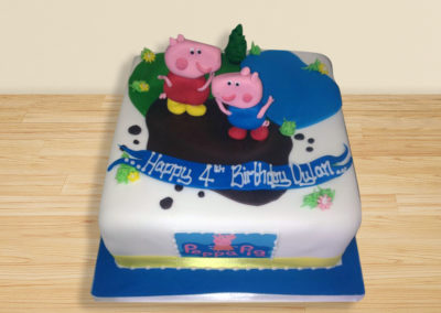 Peppa Pig cake by Bakers Lane