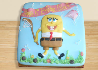 Spongebob cake by Bakers Lane