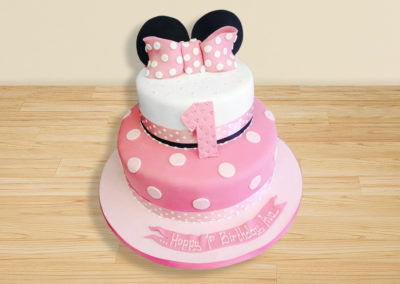 Disney Minnie Mouse cake by Bakers Lane