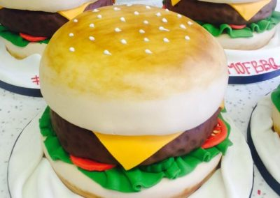 Burger Cake by Bakers Lane