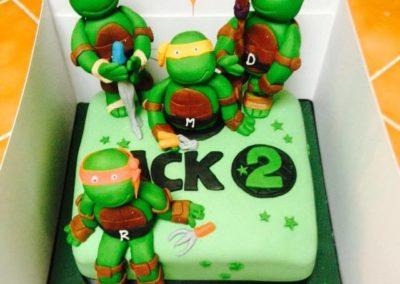 turtles-cake